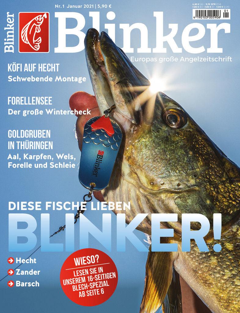 Der neue BLINKER 01/2021 – ab sofort im Handel erhältlich! Bild: BLINKER