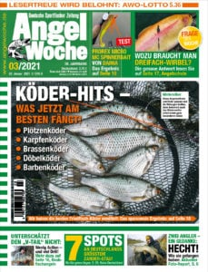 Die aktuelle AngelWoche 03 stellt Ihnen neben weiteren Themen die Top Friedfisch-Köder 2020 vor. Ganz nützlich, denn man hört sehr viele unterschiedliche Meinungen.