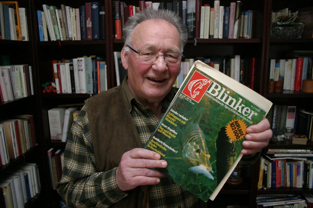 Auf die Mai-Ausgabe des Jahres 1981 war Karl besonders stolz. Die Auflage lag bei über 100.000! Foto: Christoph Hellwig