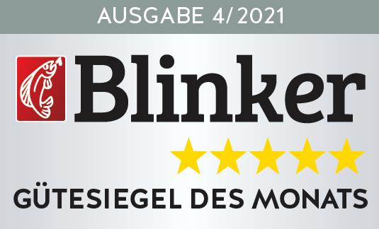 Rolf Schwarzer testete die Savage Gear SG4 im Blinker 04/2021. Bild: BLINKER