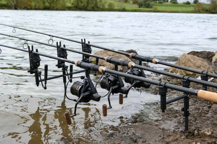 Die ND Carbon Range gibt es in drei Varianten: 2er Buzz Bar, 3er Buzz Bar und ND Singles-Setup. Foto: New Direction Tackle