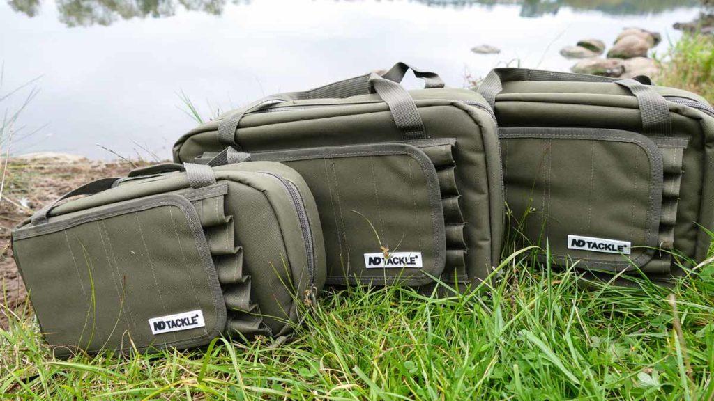 Die Taschen der ND Carbon Range sind hochwertig verarbeitet und genau an das Gerät angepasst. Foto: New Direction Tackle