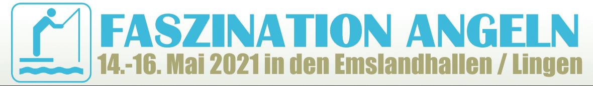 Die Faszination Angeln 2021 wird im Mai in den Emslandhallen in Lingen stattfinden. Bild: Angelmesse Lingen