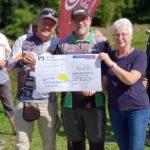 Ganze 32.200 Euro an Spenden sammelte das Team der CaJo Angelschule bei der letzten Auktion für die Kinderkrebshilfe Weseke. Auch in diesem Jahr hoffen die Veranstalter auf eine stolze Summe für den guten Zweck. Foto: CaJo Angelschule