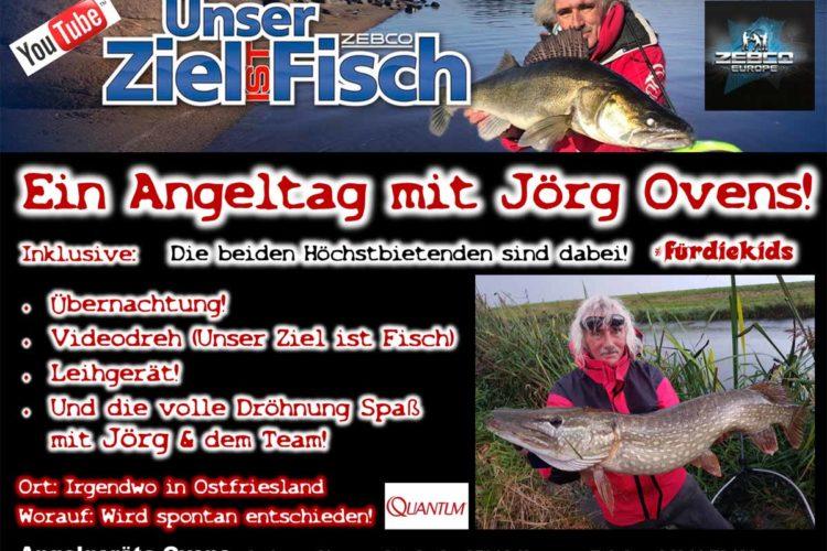 Raubfisch-Legende Jörg Ovens bietet für die Auktion der CaJo Angelschule einen geführten Angeltag. Foto: CaJo Angelschule