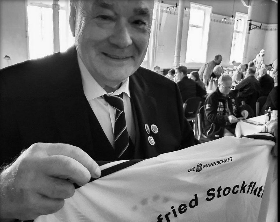 Ein Angler erster Stunde: Siegfried Stockfleth verstarb am 4. Mai 2021 im Alter von 81 Jahren.