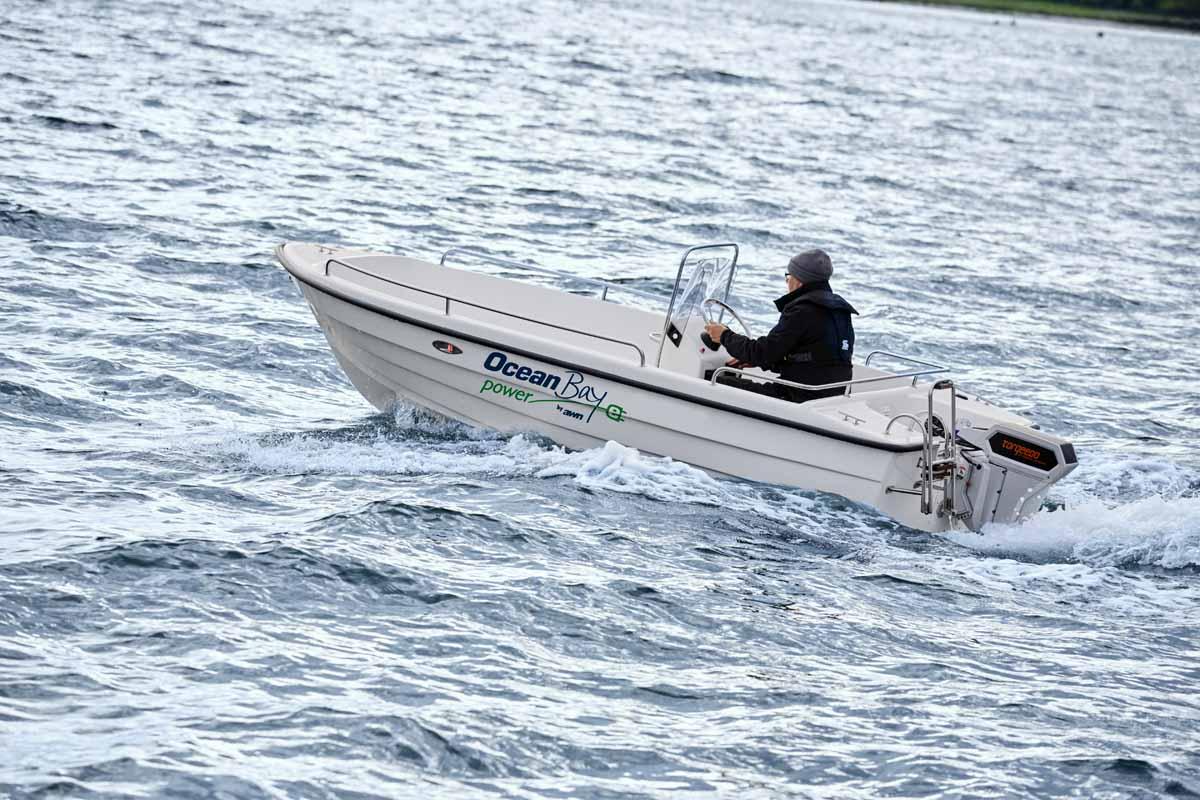 Klein, wendig, elektrisch. Auch für Bootsangler ist ein Elektroboot durchaus eine interessante Anschaffung. Foto: AWN