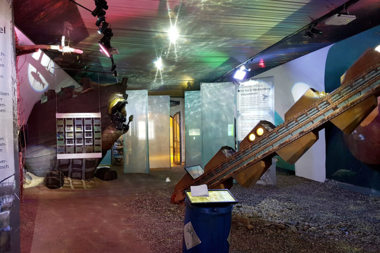 Ein teil der Erlebniswelten des Deutschen Jagd- und Fischereimuseums.