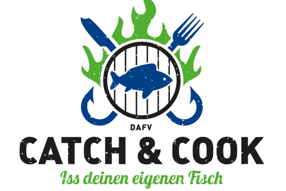 """Die neue Kampagne des DAFV: """"Catch&Cook - Iss deinen eigenen Fisch"""". Verwertung und Zubereitung eigener Fänge."""