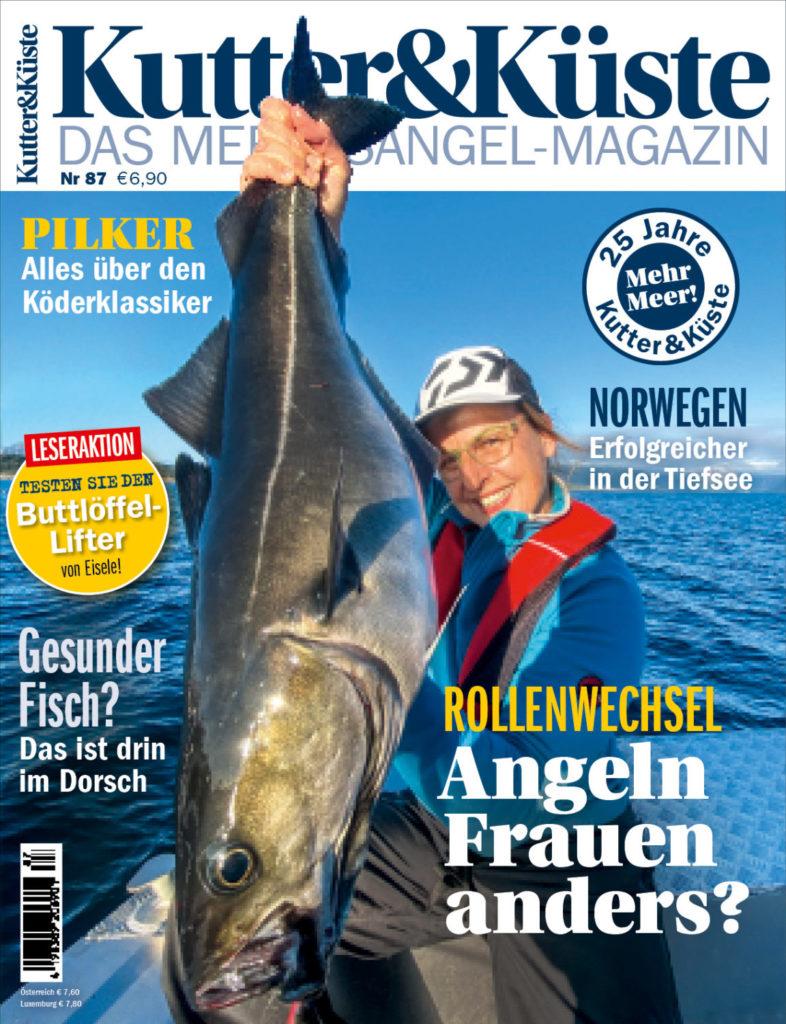 Voraussichtlich sind Reisen nach Norwegen ab dem 5. Juli wieder möglich. Da kommt das große Naturköderangel-Spezial aud der Kutter & Küste 87 gerade rechtzeitig!