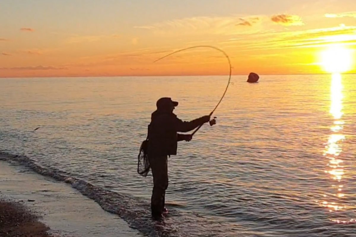 Traumbedingungen! Der Meerforellenkurs auf Fehmarn mit Thomas Czapla findet vom 18.10. bis 24.10.2021 statt.