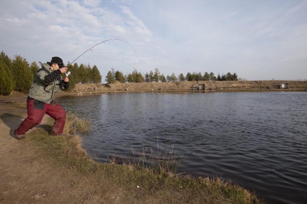 Einige Angelseen in England sind schon für das ganze Jahr ausgebucht. Die Betreiber müssen Angler auf 2022 vertrösten. Foto: F. Schlichting