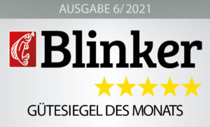 André testete die IM-12 Ultralight Feeder im Blinker 06/2021 – hier geht's zum Heft! Bild: Blinker