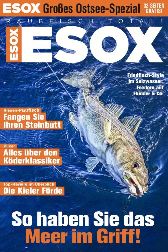 Gratis zum Heft: 32 Seiten ESOX! Diesmal mit vielen Tipps rund um das Angeln an und auf der Ostsee. Bild: BLINKER
