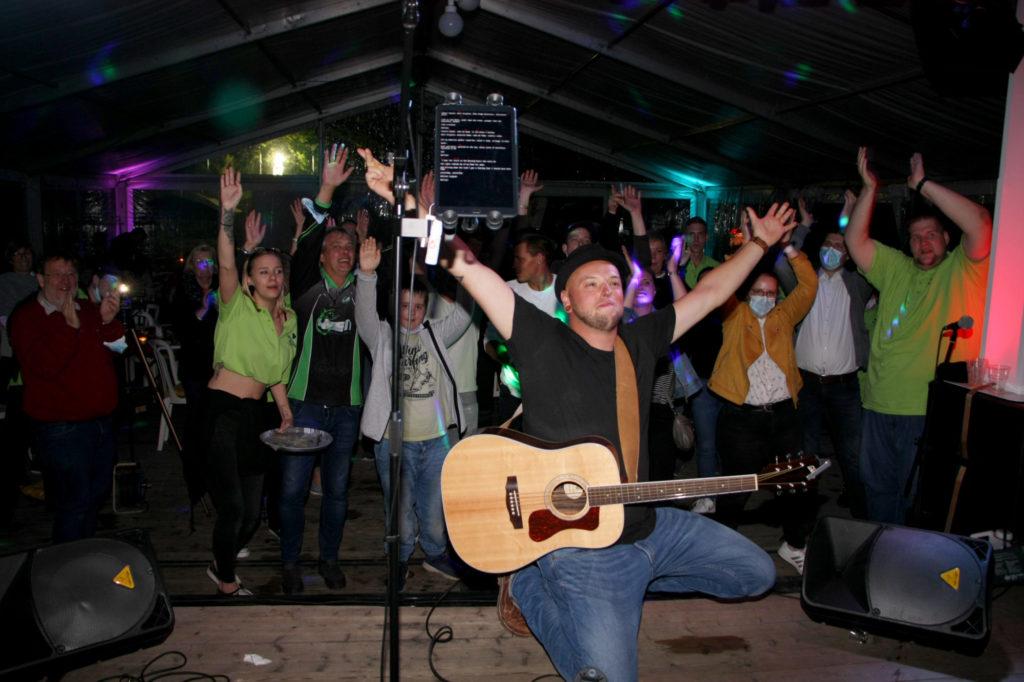 Marcel Dunker und viele weitere Musik-Acts machten den Abend zu einem echten Erlebnis. Foto: Danny Merkel