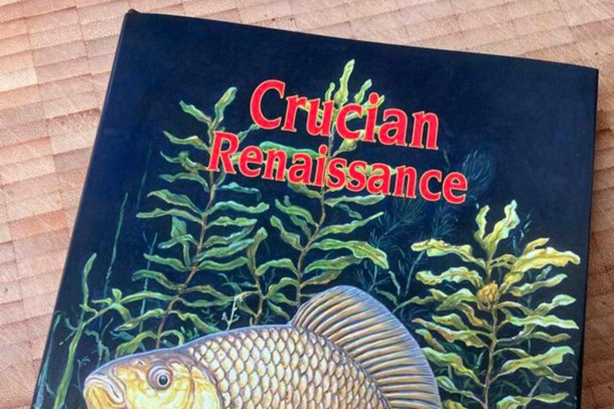 """""""Crucian Renaissance"""" – die Renaissance der Karausche, erscheint für 30 Pfund bei der Little Egret Press. Vorerst wird es nur 700 Exemplare geben. Foto: Screenshot"""