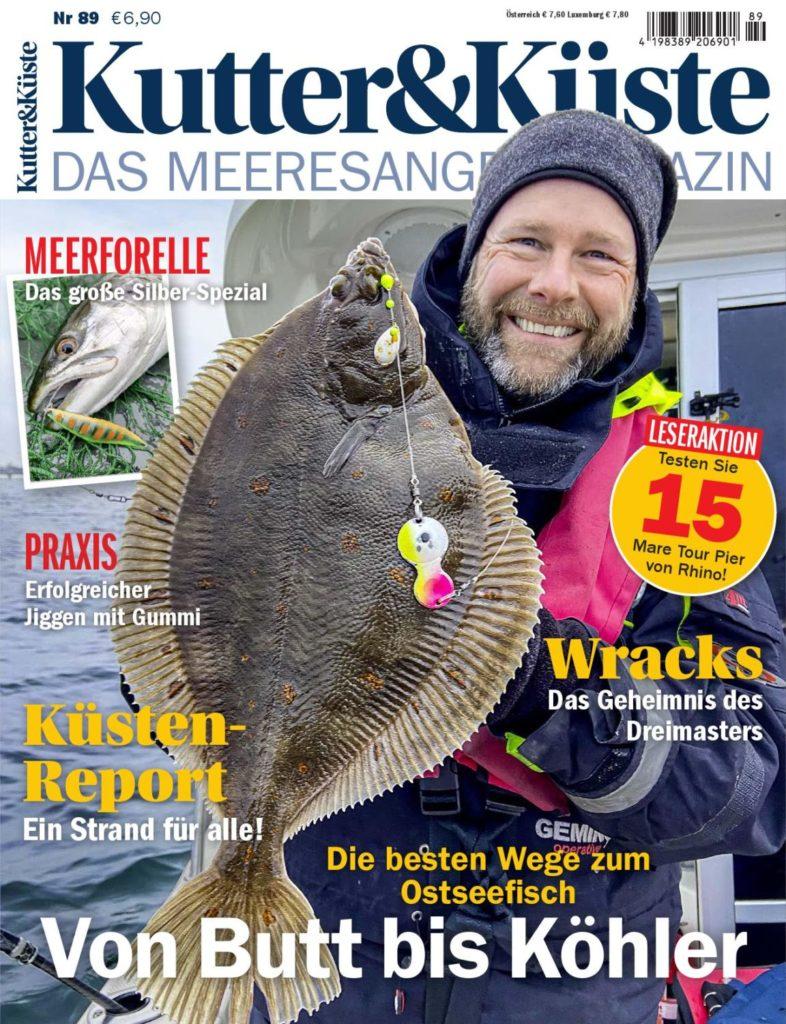 Das Magazin für Meeresangler: Kutter & Küste 89 erscheint am 5.10.