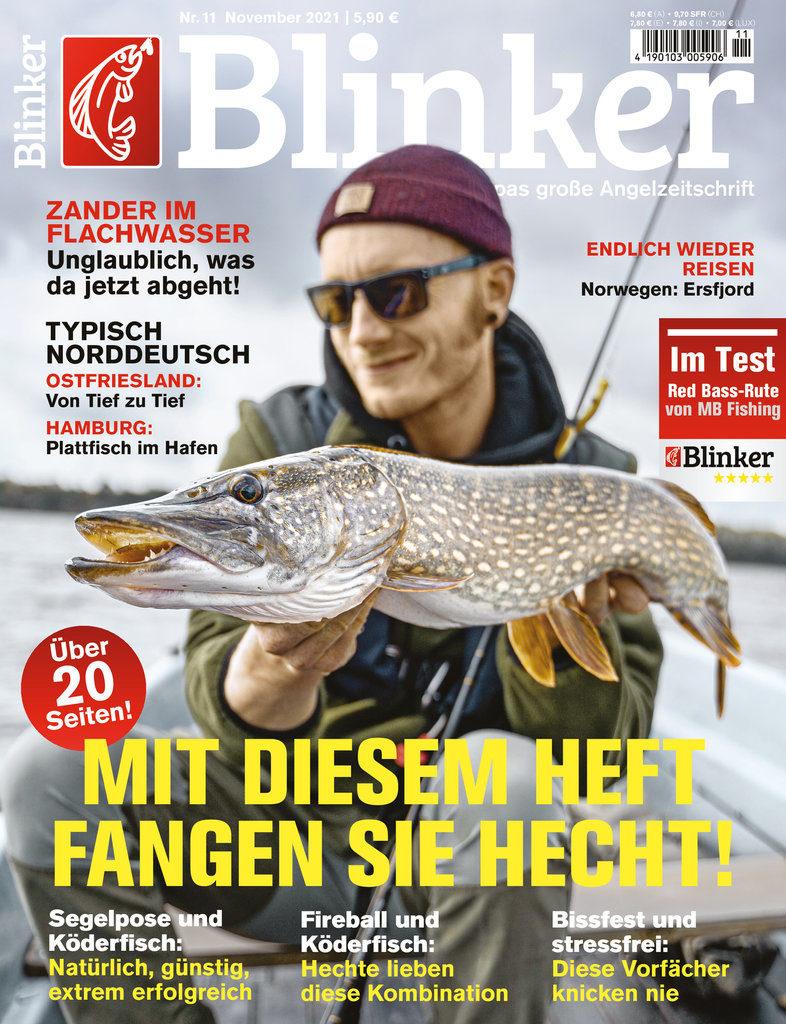 Der neue BLINKER 11/2021 – ab dem 12. Oktober am Kiosk! Bild: BLINKER
